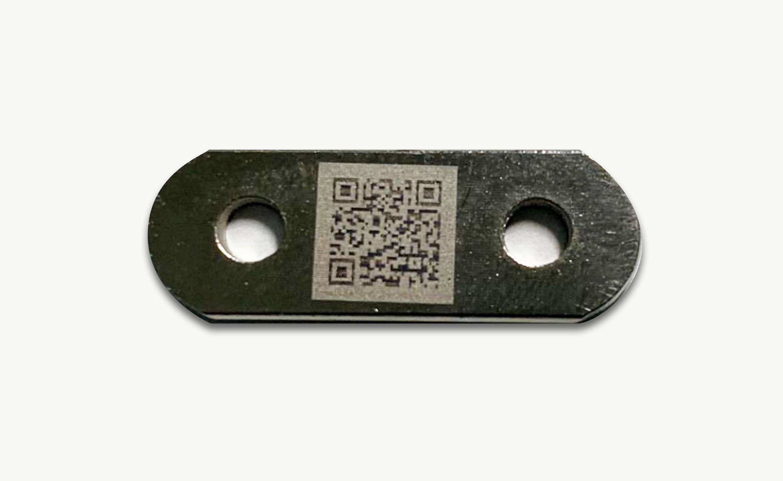 QRコードの刻印