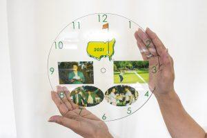 UV印刷でオリジナル時計を