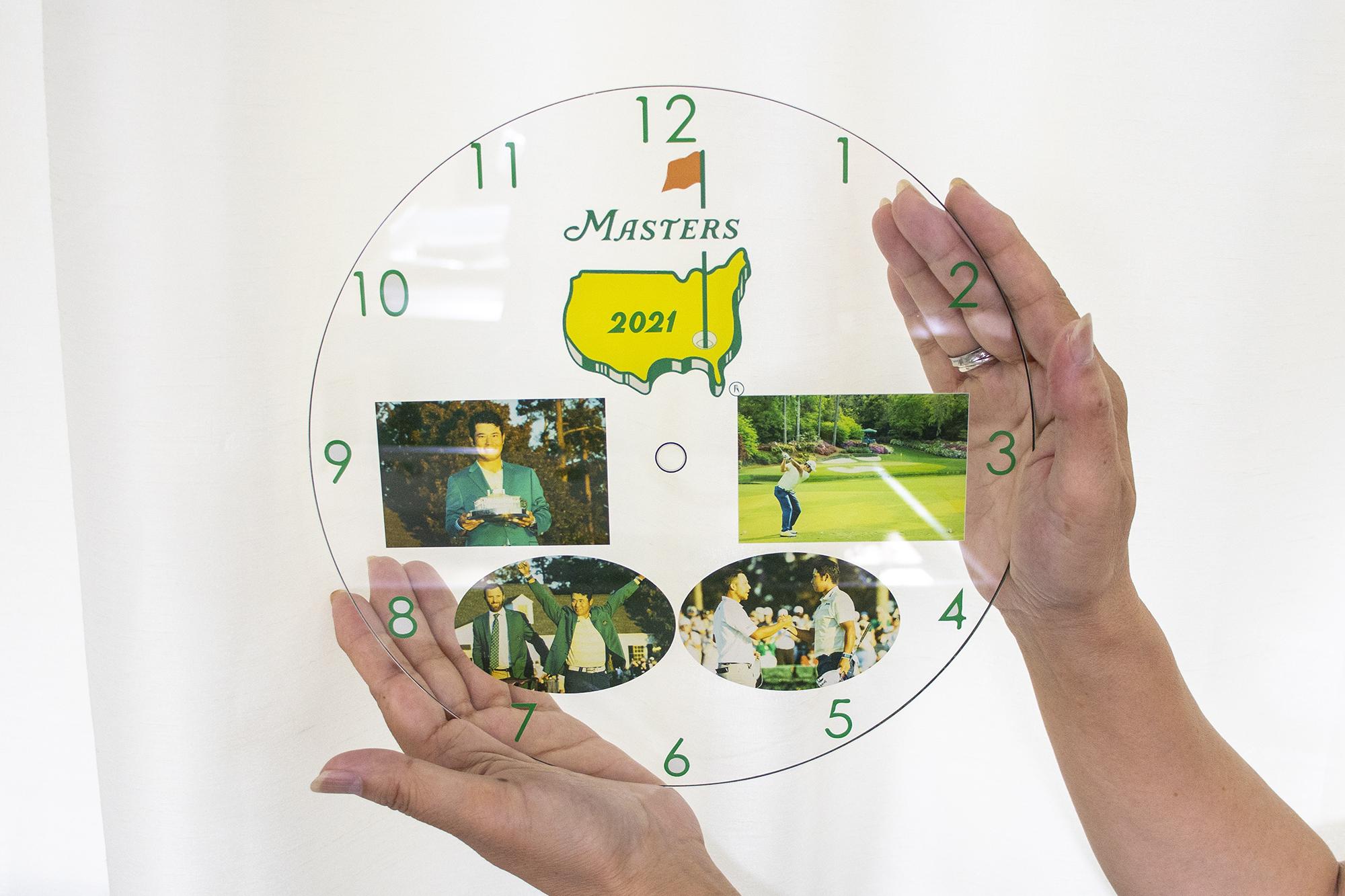 時計に印刷